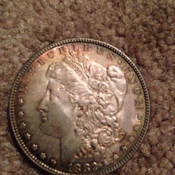Morgan silver dollar - US Coins