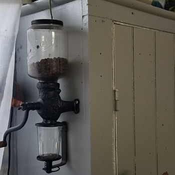 Antique coffee grinder - Kitchen