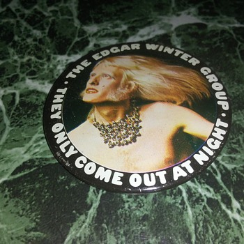 Edgar Winter On Tour...1973. - Medals Pins and Badges