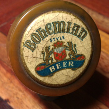 Bohemian Style Beer Knob - Breweriana