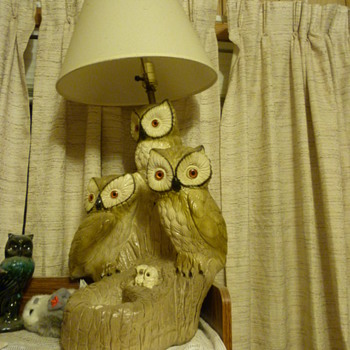 owl lamp - Lamps