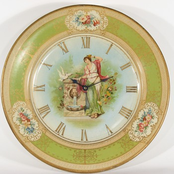 Westclox Metal Plate Clock, 1906 - Clocks