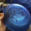 Cobalt blue dishes