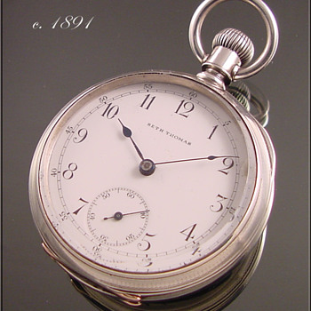 Seth Thomas 18s Pocket Watch c.1891 - Pocket Watches