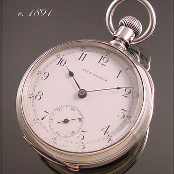 Seth Thomas 18s Pocket Watch c.1891
