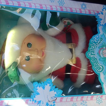 Cabbage Patch doll holiday edition Santa Claus clothes