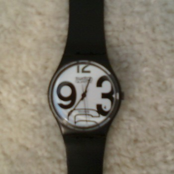 Vintage Swatch GB103 from 1983 - Wristwatches