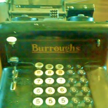 Burroughs Adding Machine - Office