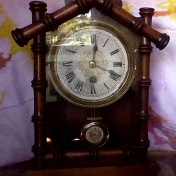 Front opening B.A.C pendulum clock - Clocks