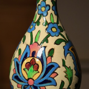 Persian Faience Vase - Pottery