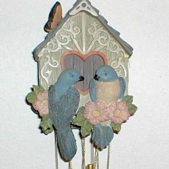 1998 - Avon Birdhouse Wind Chimes - Pottery