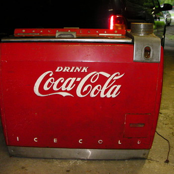 old coca cola cooler - Coca-Cola