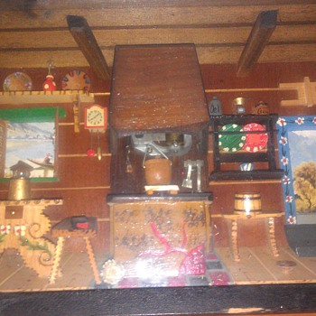 Old Music shadow box - Music Memorabilia
