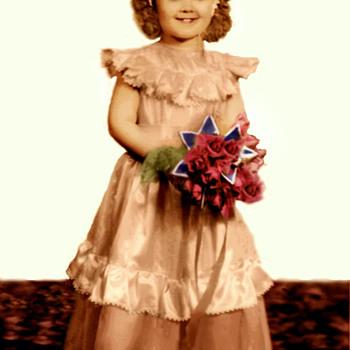 A Miniature Bride, and CW's Manikin - Photographs