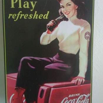 Coca-Cola Sign - Advertising