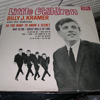 LITTLE CHILDREN BILLY J KRAMER WITH THE DAKOTAS IMPERIAL RECORD LABEL