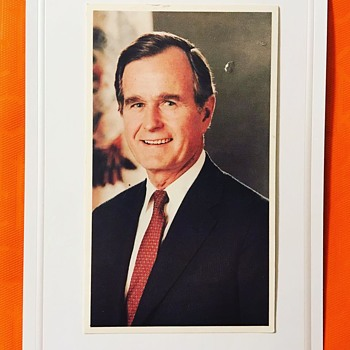Vintage Political Campaign Postcard by George H.W. Bush - Postcards