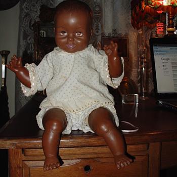 1970's Black Baby Doll...Uneeda Doll Co. Inc.  - Dolls