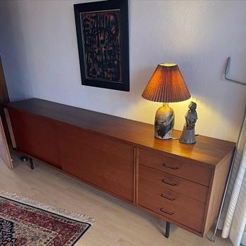 Unknown 1960s teak sideboard - Furniture