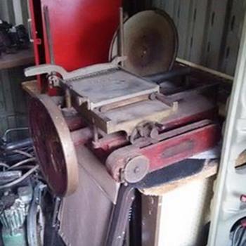 1912 berkel slicer  - Kitchen