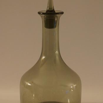 Orrefors Decanter - Art Glass