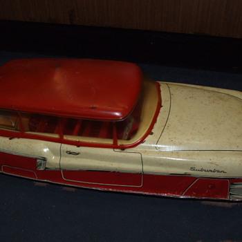 My old tin car - Model Cars