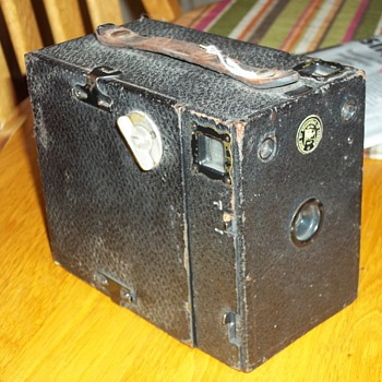 OLD ENSIGN  BOX CAMERA