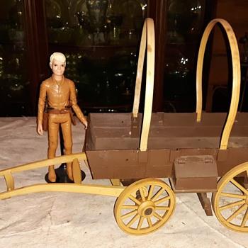 Bonanza 4 in 1 Wagon American Character - Toys