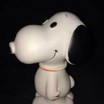 1966 Snoopy Vinyl Dog Squeak Toy - Advertising
