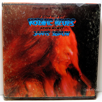 Janis Joplin – I Got Dem Ol' Kozmic Blues Again Mama! Reel Tape - Electronics