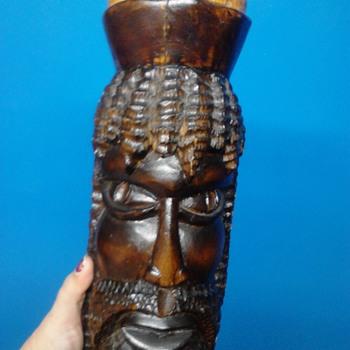 Unusual Tribal Statue - Fine Art