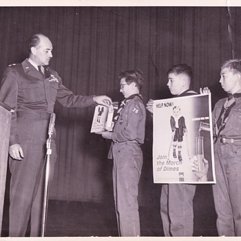Saturday Evening Scout Post Official Air Force Photo Of Boy Scouts - Photographs