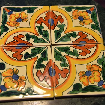 Talavera Mexican Tiles - Pottery