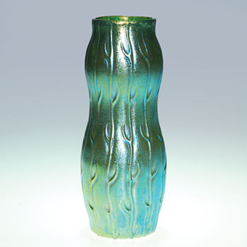 Loetz Blue Neptun - Art Glass