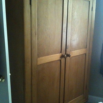 Pine Wardrobe - Furniture