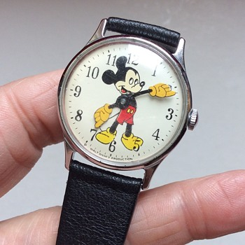 How old is my Mickey Mouse watch?