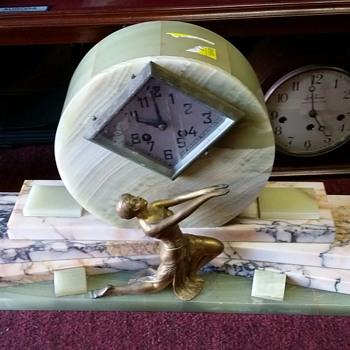 Art Deco Strike & Chime Clock - Art Deco