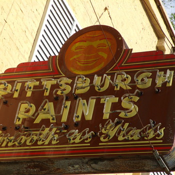 Porcelian Paint Signs - Signs
