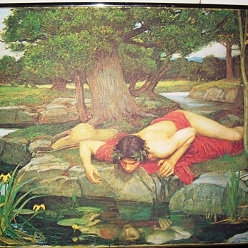 2 Paintings by J Waterhouse  real or reproduced???