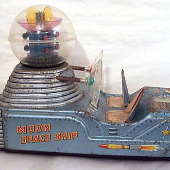 Nomura Vintage Space Moon Car - Toys