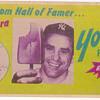 Vintage Hall of Famer Product Ads