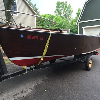 1958 Thompson Fishing boat  - Fishing