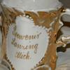 """Antique """"Souvenir Lansing Mich"""" Porcelain Cup"""