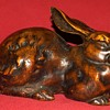 Antique Cast Iron Japanese Hare #1