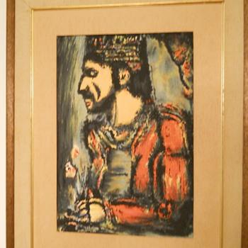 A painting.... - Folk Art