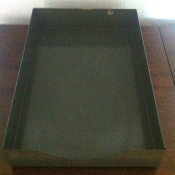I.C. Industrial tray. - Office