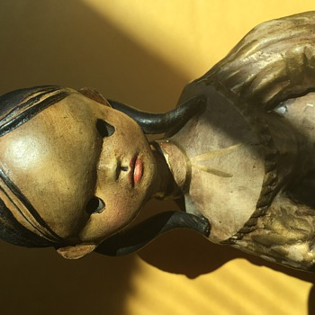 Panduro clay figurine - please, help determine age and whether it's authentic