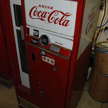 Coca Cola 60's bottle machine? Cavalier - Coca-Cola