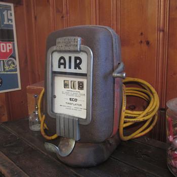 ECO model 97 wall mount air meter - Petroliana