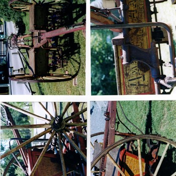1878 American Harrow Grain Drill - Tools and Hardware